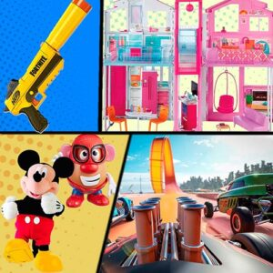 juguetes de línea